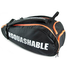 Unsquashable Tour Tec Pro Racket Bag Black Orange