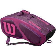 Wilson Team II 12 Pack Racket Bag Purple