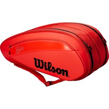 Wilson Federer DNA 12 Pack Racketbag Infared