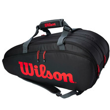 Wilson Tour 3 Clash 12R Compartment Racket Bag Black