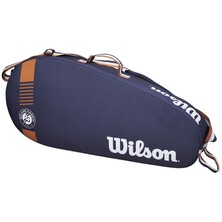 Wilson Roland Garros Team 3 Racket Bag 2020 Navy