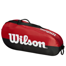 Wilson Team 3 Racket Bag Red Black