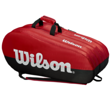 Wilson Team 15 Racket Bag Red Black
