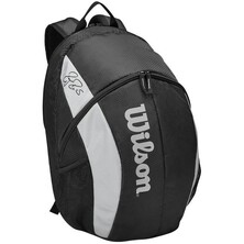 Wilson Roger Federer Team Backpack Black White