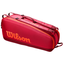 Wilson Tour 6 Racket Bag Maroon