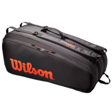 Wilson Tour 12 Racket Bag Black Red