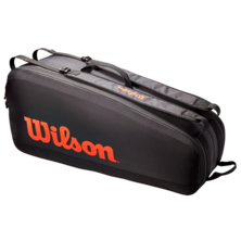 Wilson Tour 6 Racket Bag Black Red