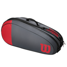 Wilson Team 6 Racket Bag Red Grey