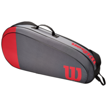 Wilson Team 3 Racket Bag Red Grey