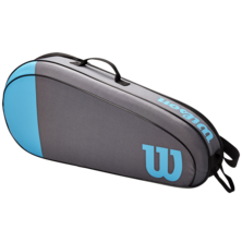 Wilson Team 3 Racket Bag Blue Grey