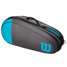 Wilson Team 6 Racket Bag Blue Grey