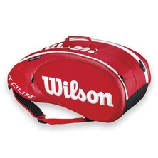 Wilson Tour Molded 2.0 9 Pack Racket Bag - Red