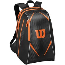 Wilson Topspin Backpack Black Orange
