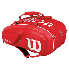 Wilson Tour V 15 Pack Racket Bag Red