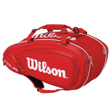 Wilson Tour V 9 Pack Racket Bag Red