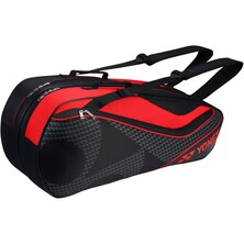 Yonex Active 6 Racket Bag (BAG8726EX) - Black/Red