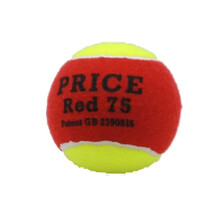 Price Red 75 Junior Tennis Balls - 1 Dozen