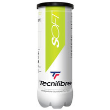 Tecnifibre Green Soft Stage 1 Junior Tennis Balls  3 Ball Tube