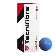 Tecnifibre Racketball Balls - 3 Ball Box - Blue