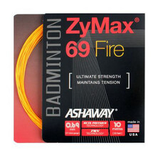 Ashaway Zymax 69 Fire Orange Badminton String
