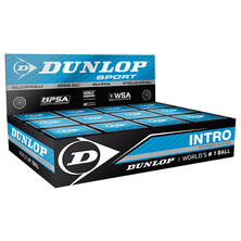 Dunlop Intro Squash Ball - 1 Dozen