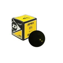 Dunlop Pro Squash Ball - 1 Ball. Double Yellow Dot