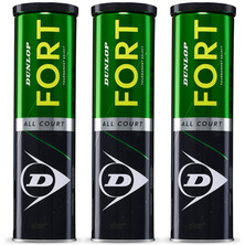 Dunlop Fort All Court Tournament Tennis Balls - 1 Dozen