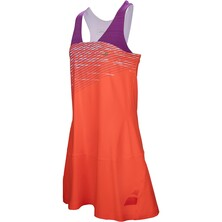 Babolat Performance Racerback Girls Dress Fluo Red