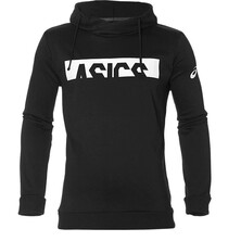 Asics Entry Sweat Hoodie Logo Black