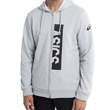 Asics Entry Sweat FZ Hoodie Mid Grey