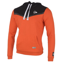 Dunlop Unisex Essential Hoodie Orange Anthracite