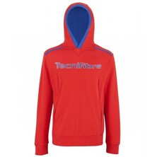 Tecnifibre Junior Hoody Fleece Red