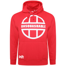 UNSQUASHABLE PDHSports Training Hoodie - Red White