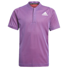 Adidas Boys Freelift Polo Primeblue Purple