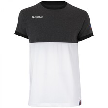 Tecnifibre Junior F1 Stretch T-Shirt 2020 Black Heather
