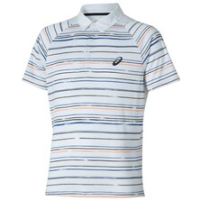 Asics Men's Graphic Polo Shirt - Multi White