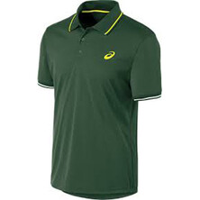 Asics Men's Club Short Sleeve Polo Oak Green