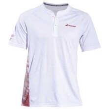 Babolat Men's Performance Polo White Salsa