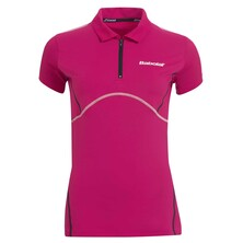 Babolat Match Performance Polo Girl Cherry
