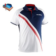 Salming Men's Performance Polo Navy White