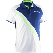 Salming Men's Performance Polo Navy Green