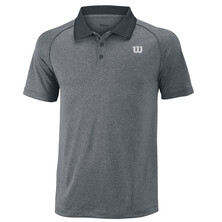 Wilson Men's Core Polo Shirt Dark Grey