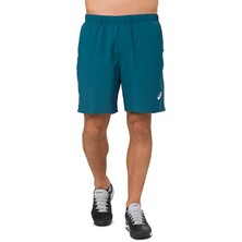 Asics Men's Short Blue Steel