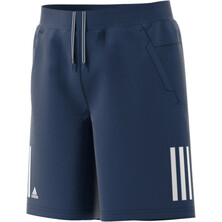 Adidas Boy's Club Short Blue White