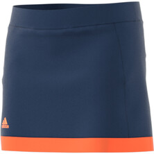 Adidas Court Skort Girls Blue Orange