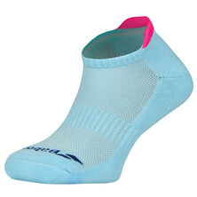 Babolat Invisible 2 Pack Women Socks Clearwater Fandango Pink