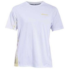 Babolat Boys' Performance Crew Neck Tee White Dark Yellow
