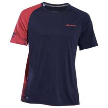 Babolat Boys' Performance Crew Neck Tee Black Salsa