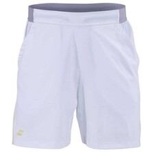 Babolat Boys' Performance Shorts White Dark Yellow
