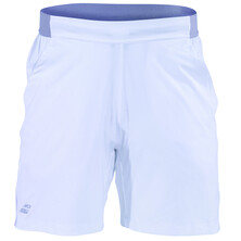 "Babolat Men's Performance 7"" Shorts White Silver"